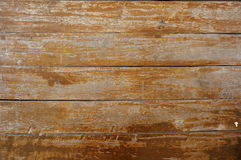 在木纹理的老削皮油漆 免版税图库摄影