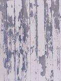在木纹理的破旧的脏的削皮油漆 库存照片