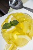 柠檬Jello 库存照片