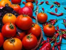 在木背景的新鲜的开胃菜 一种健康生活方式的概念 免版税库存图片