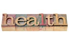 在木类型的健康词 库存图片