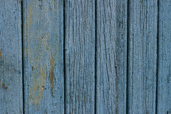 在木头的退色的油漆 免版税库存照片