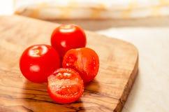 在木stong的西红柿 库存图片