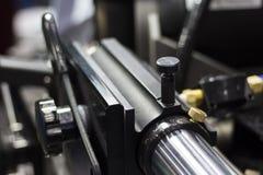 在机器的别针零件 库存图片