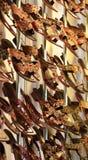 在机架的五颜六色的凉鞋 免版税图库摄影