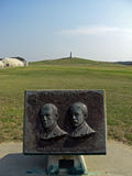 在杀害恶魔小山的莱特兄弟全国纪念品, 2008年 免版税库存图片