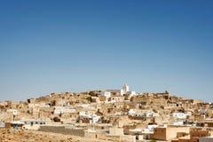 在村庄Tamezret的看法 免版税库存照片