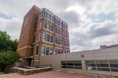 在杜克大学的施瓦茨黄油运动中心 免版税库存照片