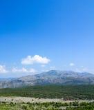 在杜布罗夫尼克的小山 库存照片