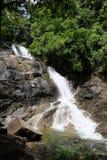 在来自南方的风暴泰国的Lumpee瀑布 库存图片