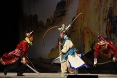 """在杨Family†的争斗北京Opera""""妇女一般 库存图片"""
