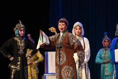"""在杨Family†的战争动员北京Opera""""妇女将军前 库存图片"""