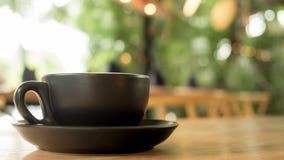 在杯子的Americano咖啡 图库摄影