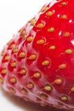 在板材的新鲜的草莓,特写镜头 图库摄影