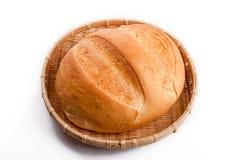 在构成上添面包 免版税库存图片