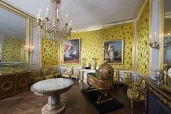 在枫丹白露宫,法国里面的室 图库摄影