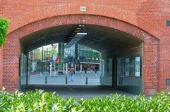 在柏林动物园附近的Kantstrasse 库存照片
