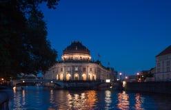 在柏林-德国的老博物馆小岛 库存图片