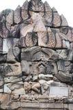 在柬埔寨边界的寺庙。 免版税图库摄影