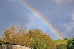 在树的彩虹,德文郡 图库摄影