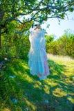 在树的美丽的礼服 免版税库存照片