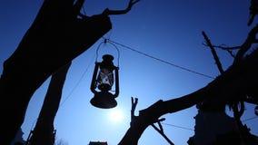 在树的老灯笼灯 股票视频