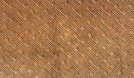 在树荫下编辫子的背景褐色 图库摄影