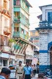 在格兰特路孟买,印度附近的街道视图 免版税库存照片