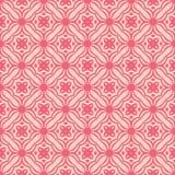 在桃红色口气的一个净花织品设计无缝的背景样式例证 库存例证