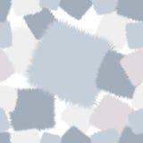 在桃红色和蓝色口气的时髦粗野的无缝的样式补缀品 库存图片