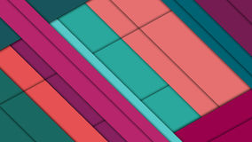 在桃红色和蓝色颜色的现代物质设计背景 库存照片