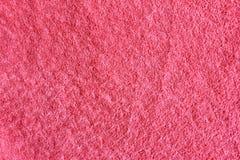 在桃红色背景的面团 免版税库存照片