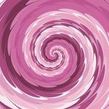 在桃红色,紫色,玫瑰色和白色的抽象螺旋背景 皇族释放例证
