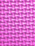 在桃红色3d的塑料图与纹理 免版税库存照片
