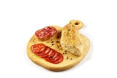 在桌上的可口塔帕纤维布开胃菜 免版税图库摄影
