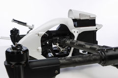 在桌上的Quadrocopter成套工具 免版税图库摄影