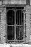 在桑迪勾子新泽西的老地堡门 库存图片
