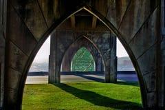 在桥梁之下 图库摄影