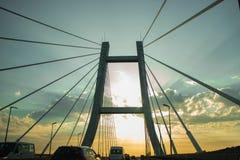 在桥梁的一次旅行 免版税库存照片