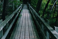 在桥梁的桥梁 库存照片