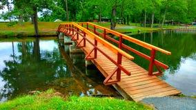 在桥梁以后 免版税库存照片