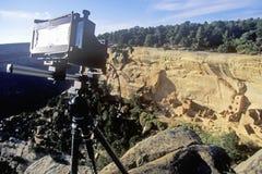 在梅萨维德国家公园,科罗拉多的照相机 图库摄影