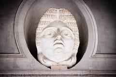 在梵蒂冈博物馆里面的雕象 库存照片