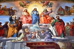 绘画在梵蒂冈 库存图片