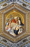 绘画在梵蒂冈 免版税库存照片