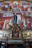 绘画在梵蒂冈 图库摄影