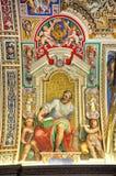 绘画在梵蒂冈 库存照片