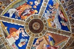 绘画在梵蒂冈 免版税图库摄影