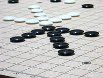 在棋枰的两个箭头 免版税库存图片