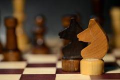 在棋枰的棋形象 免版税库存图片